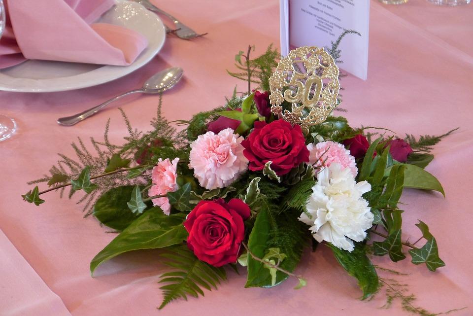 Tischdekor Hochzeit Goldene Kostenloses Foto Auf Pixabay