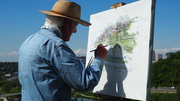 Pintura, Pintura Hombre, Pintor