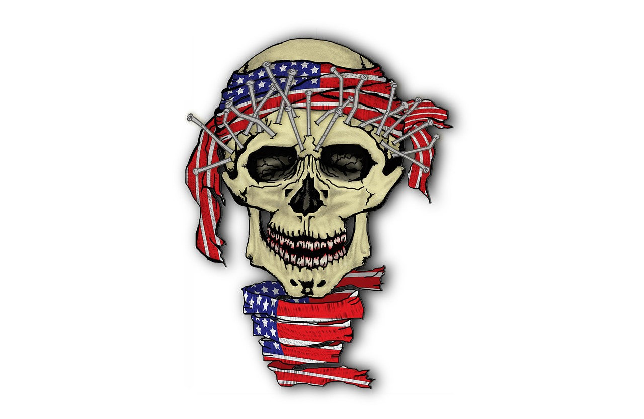 Skull American Death   Free image on Pixabay