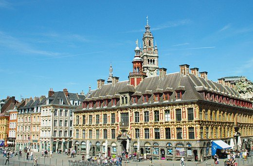 Lille Grand Place Antigua Bolsa