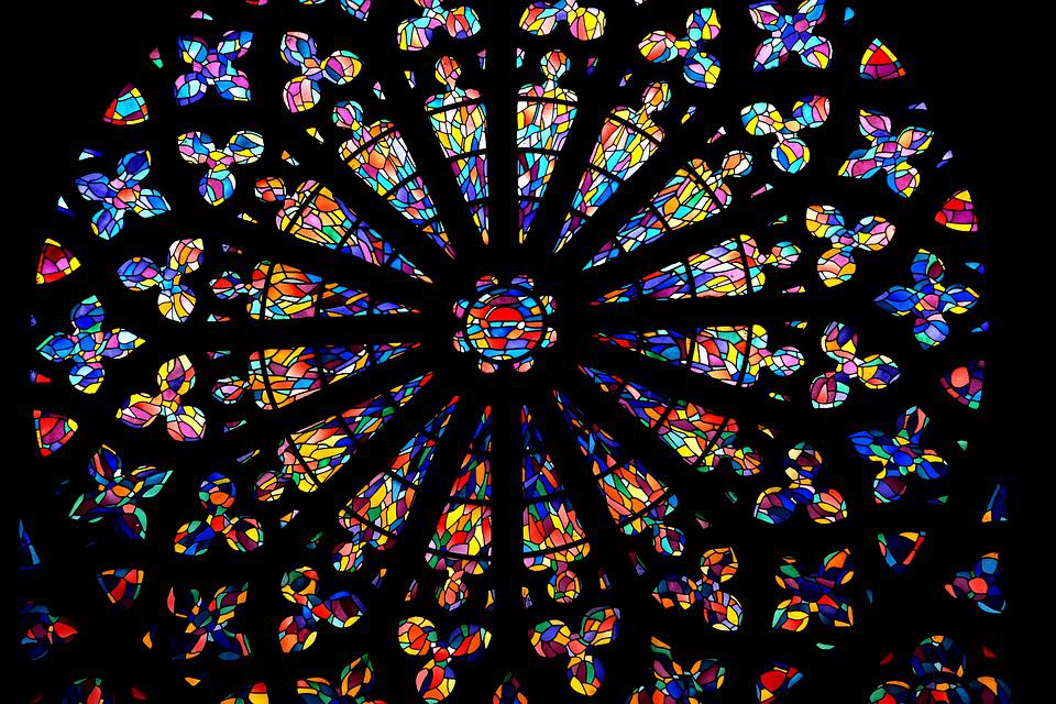 Church Stained Glass Windows Colors Heritage