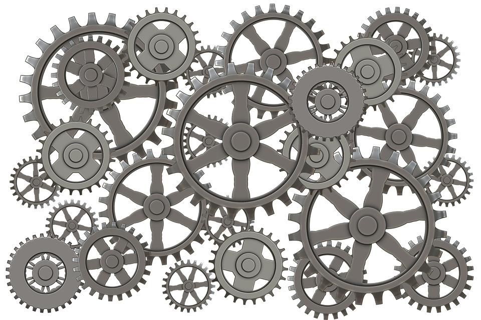 machine gears