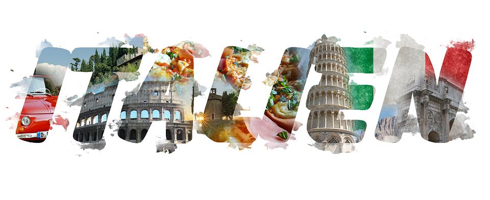 Kostenlose Illustration Italien Schriftzug Kreativ