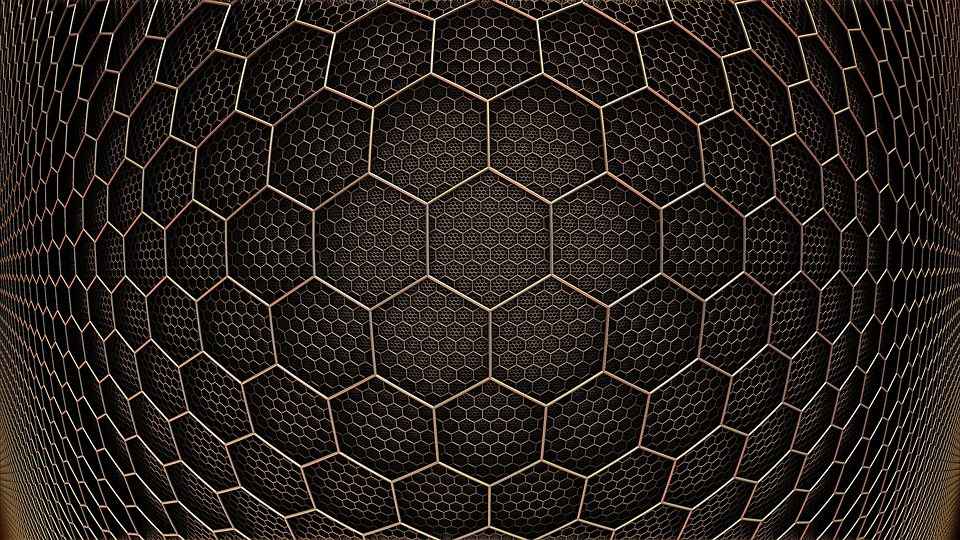free illustration  background texture  hexagon  grid