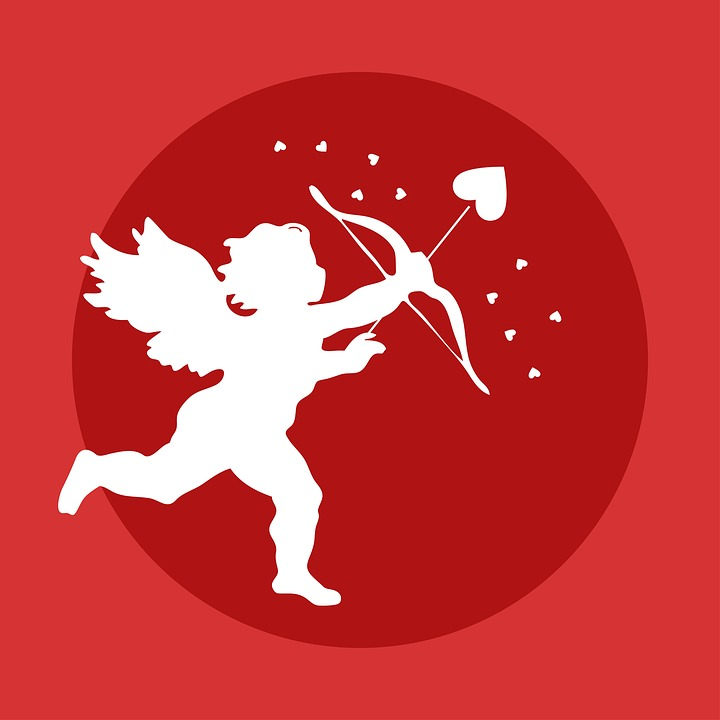 Schön Cupid Bow Love Valentine Angel Day Arrow Cherub