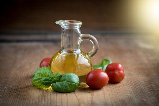 Öl, Olivenöl, Flaschen, Lebensmittel