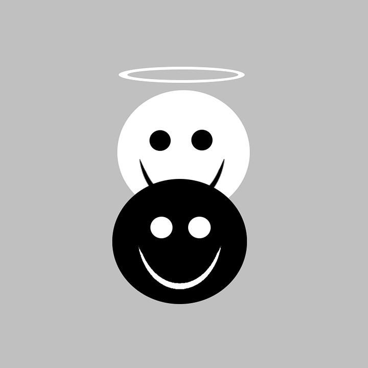 Engel Duivel Ethisch Gratis Afbeelding Op Pixabay