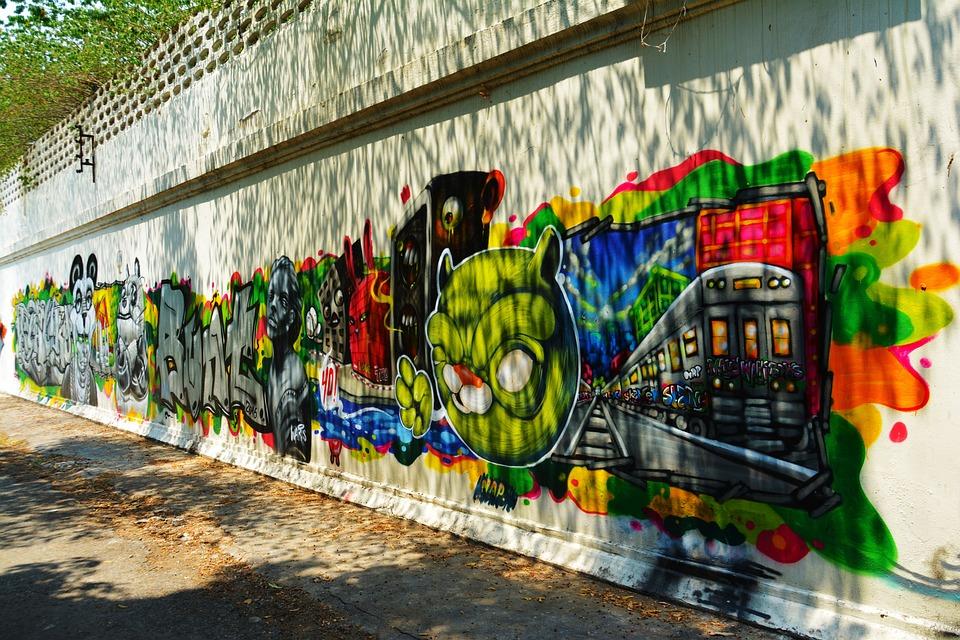 Urban Wall Art free photo: graffiti, wall art, wall, urban - free image on