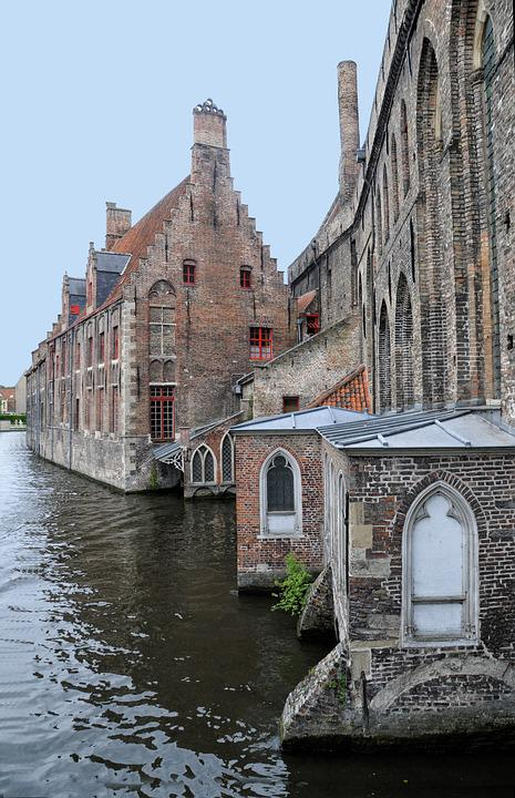 Free photo: Bruges, Channel, Water, Belgium - Free Image on ...