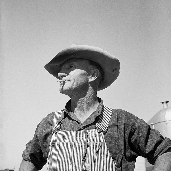 Free Photo Old Man Hat Farmer Smoking Free Image On