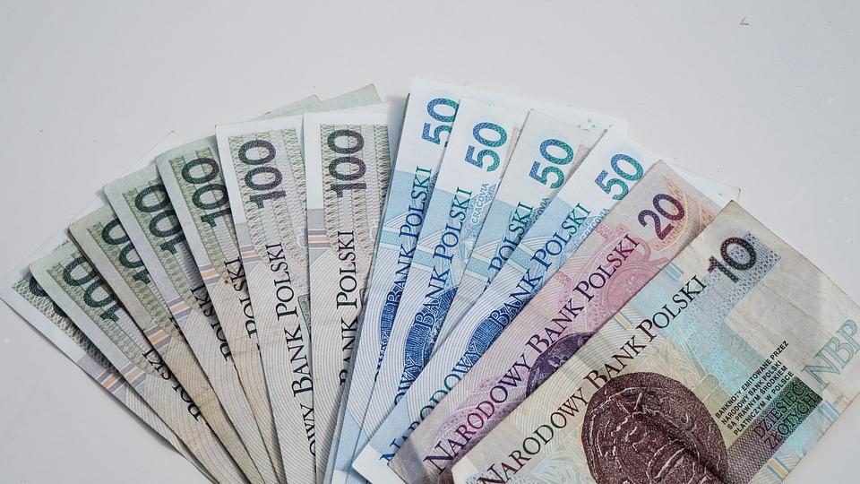 お金, 紙幣, 100ズウォティ, 50ズウォティ, 富, 収益, 節約, ゴールデン, 支払い, 支払い方法