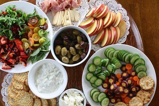 Appetizer Summer Organic Colorful Freshnes