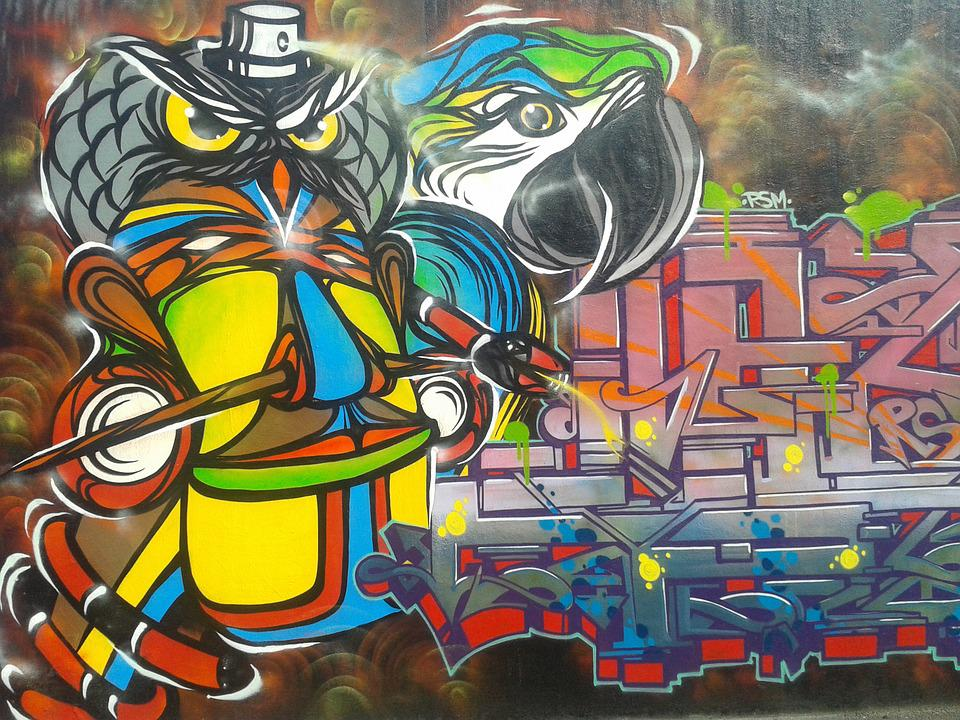 Graffiti Art Street Cartoon 183 Free Photo On Pixabay