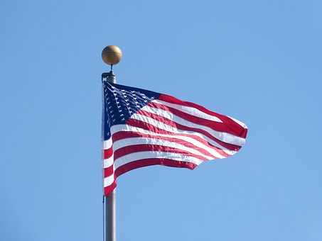 American Flag Waving, Flag