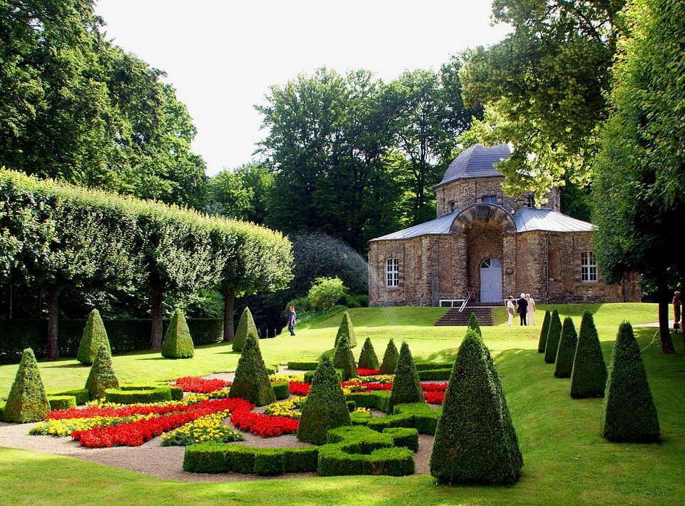 Kostenloses foto park pavillon garten schlo for Diferentes jardines