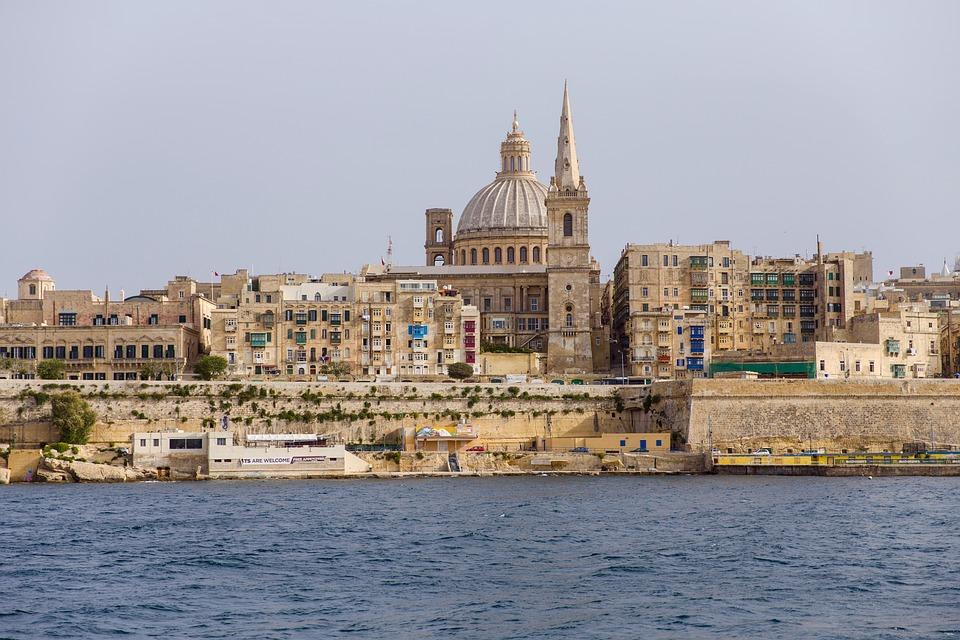 Malta, Church, Basilica Of Our Lady Of Mt Carmel