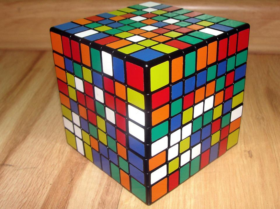 free photo  rubik u0026 39 s cube  8x8x8  jigsaw puzzle - free image on pixabay