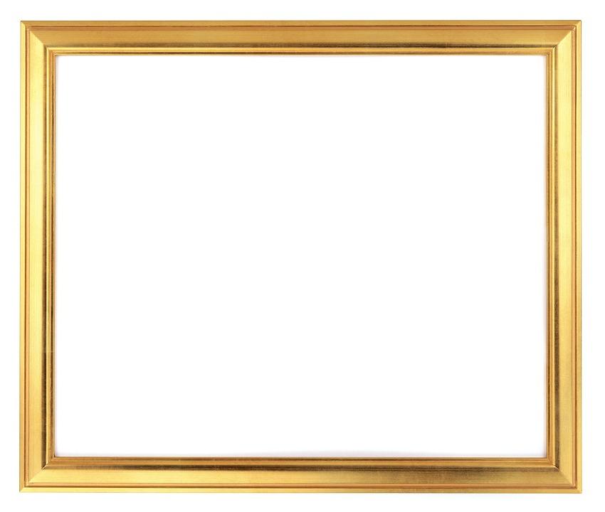 Gold Photo Frame Classical · Free photo on Pixabay