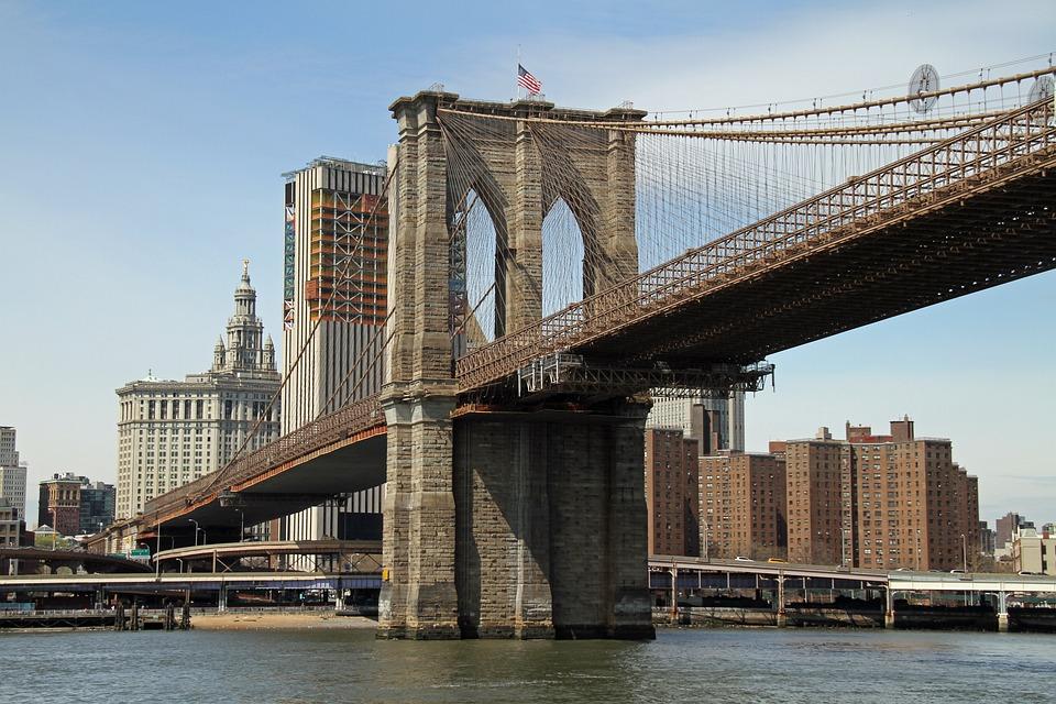 Jembatan Brooklyn di New York