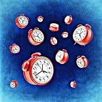 clock, alarm clock, time