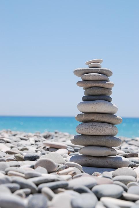 zen pierres galets
