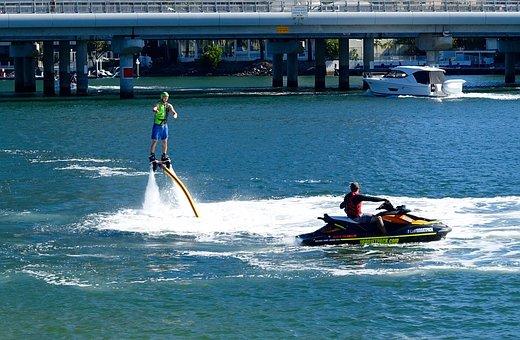 Jetpack, Water, Propulsion, Watersport