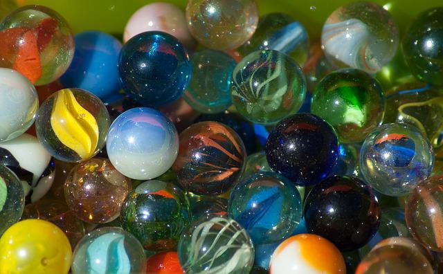 Glass Marbles Game : Free photo games glass marbles bowls