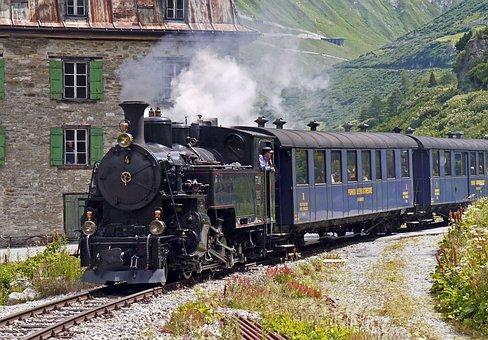 Steam Railway Furka-Bergstrecke