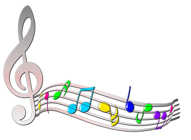 Free Music Background Clipart Download Free Clip Art: Free Illustration: Note, Scores, Treble Clef, Melody