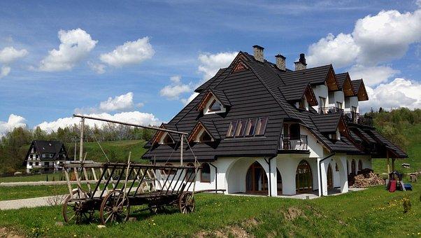 建物, 家, アーキテクチャ, 住宅, 新築戸建, ポーランド, Jurgów