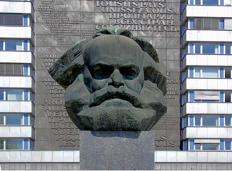Karl Marx Ensemble, Denkmal
