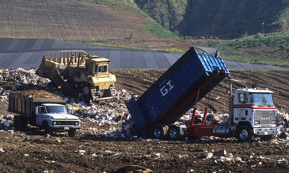Land Fill, Trash, Dump, Environment