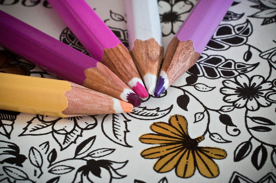Coloring Book For Adults Colored Pencils