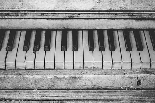 Piano Instrument Music Keys Notes Old