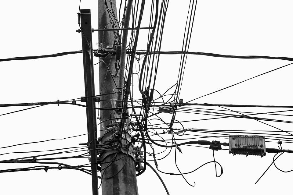 Wires Lines Electricity · Free photo on Pixabay