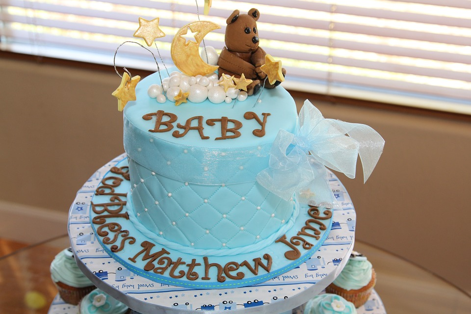 Cake Birthday Baby Shower Free Photo On Pixabay