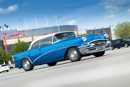 Buick, Oldtimer, Special, 1955, Old, Car