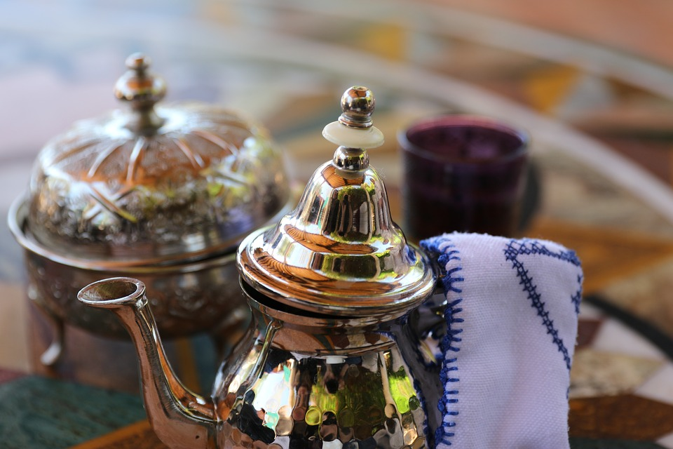 Марокко, Teeservice, Teekännchen, Мята, Традиция