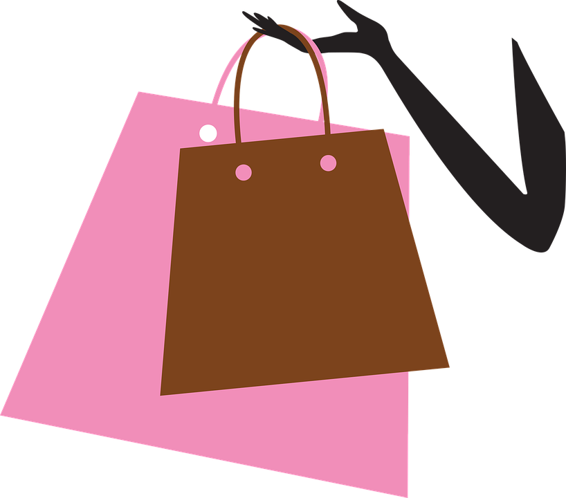 free vector graphic shopping bags shopping bag free