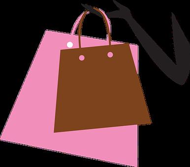 ショッピング, バッグ, ショッピング バッグ, 買い物中毒, 女性, 幸せ