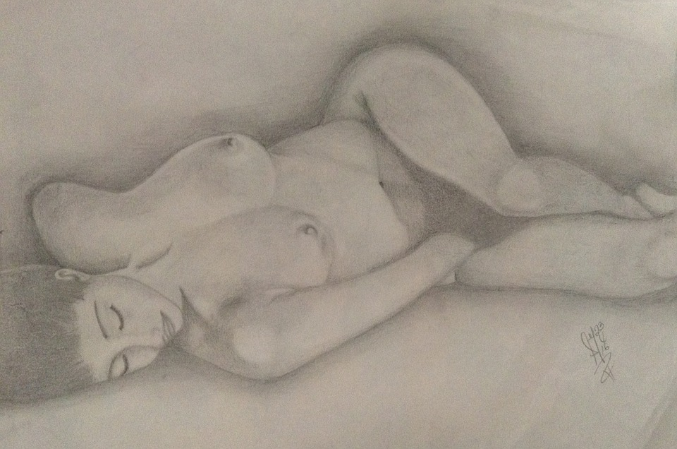 Mujer Recostada Desnuda Imagen Gratis En Pixabay
