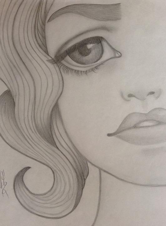 Jeune Fille Triste Dessin Image Gratuite Sur Pixabay