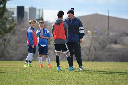 Soccer, Coach, Football, Soccer Team
