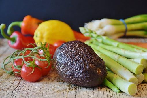 Vegetables, Asparagus, Tomatoes, Leek