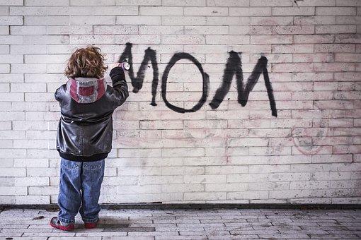 Mom, Graffiti, The Art Of, Mom, Mom, Mom