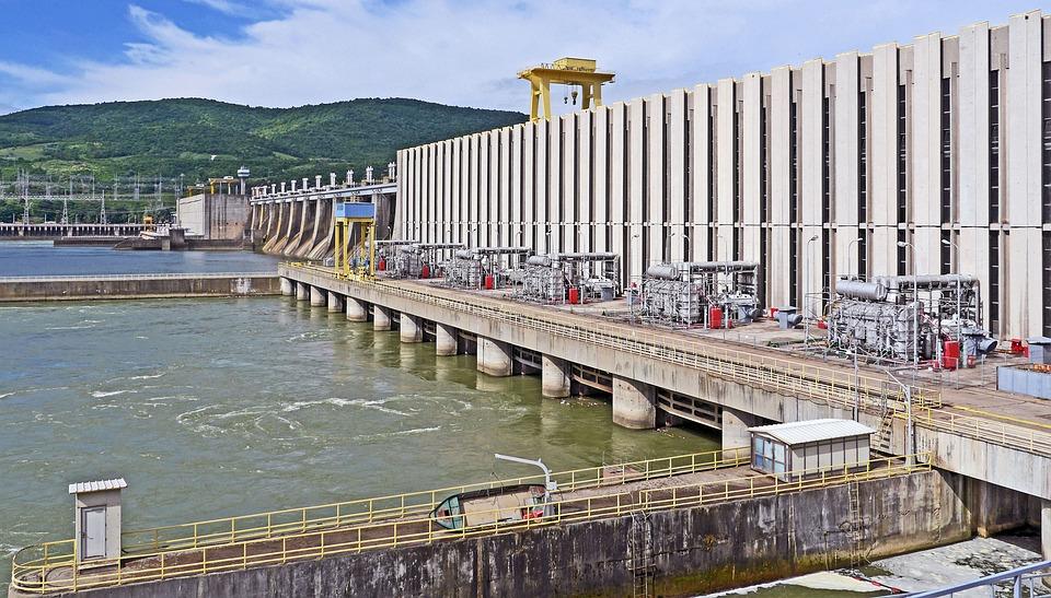 Staudamm, Eisernes Tor, Donau, Djerdap1, Rumänien