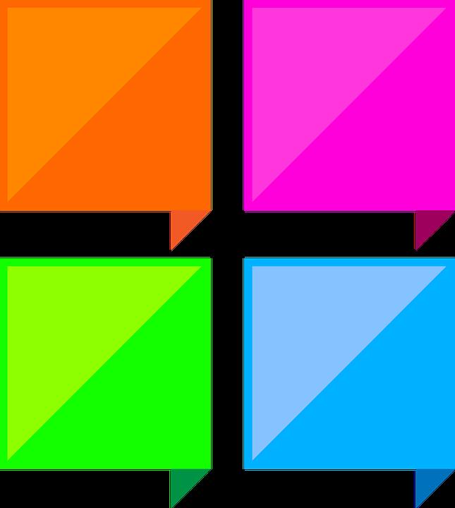 Dialog Boxes Colorful Square Free Image On Pixabay