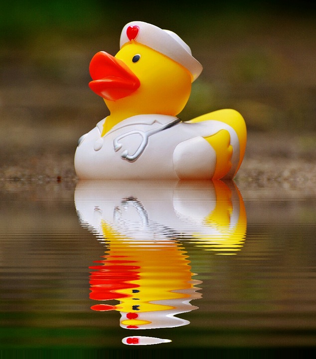 Rubber Duck Bath Mirroring · Free photo on Pixabay