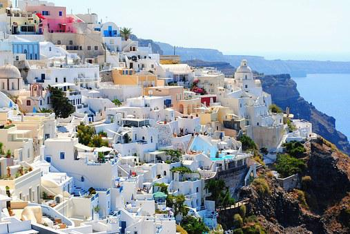 Santorini Travel Holidays Vacation Summer
