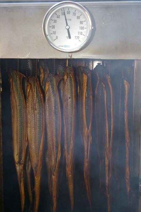 Ryger, Räucherfisch, Røg, Røget, Spise, Holdbarhed